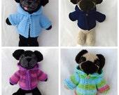 Toadally Custom Knitted Pug Doll
