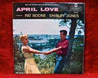 APRIL LOVE...Original Motion Picture Soundtrack - 1957 Vintage Vinyl Record Album...English Pressing