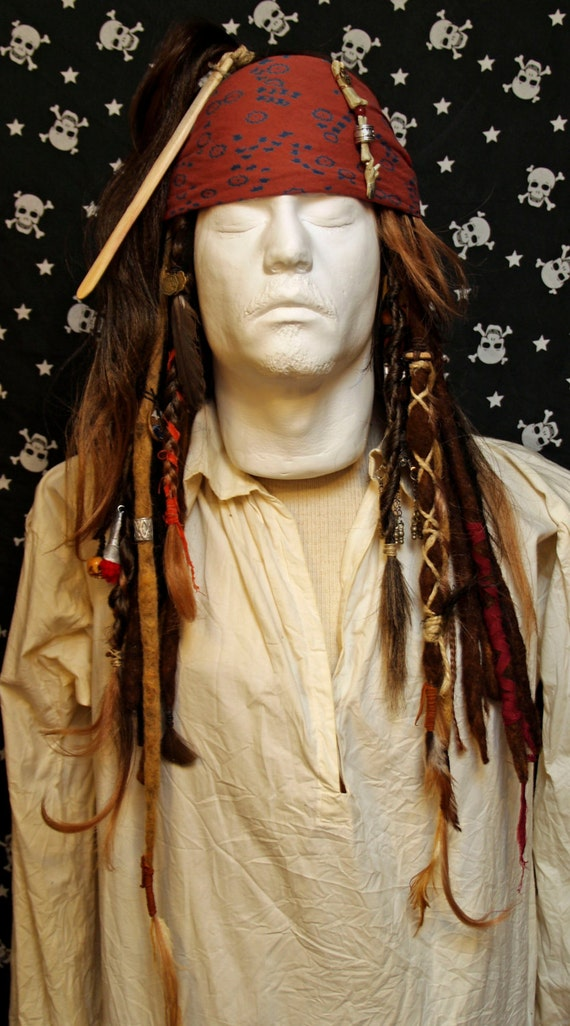 Captain Jack Sparrow Wig 68