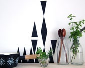 triangles - wall decals