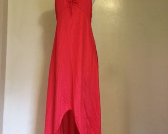 Red Fox . Lingerie. Nighty. Slip. Rare. 34 inch waist. Long