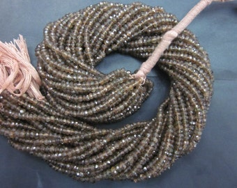 Andalusite Faceted rondelle 3.5-4 mm,