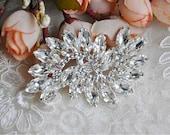 Rhinestone Applique Crystal Trim Rhinestone Beaded Applique Bridal Accessories Wedding Dress Sash Belt Headband