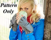 PATTERN ONLY to crochet your own pair (pdf), Crochet Glittens (Glove/Mittens Combo), Make your own Adult Sizes (Xs/5+yrs, Sm, Med, Lg, XL)