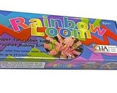 Rainbow Loom Kit- Comes With C-clips AND 600 Mix Colors rubber Bands - Bracelet Making Kit