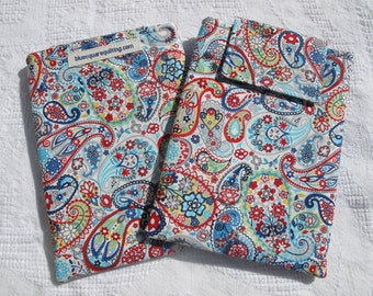 Kindle Paperwhite Case, Kindle Paperwhite Sleeve, Kindle Paperwhite Cover - paisley