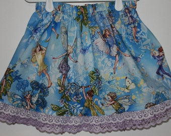 Michael Miller Flower Fairies  size 2 - 7