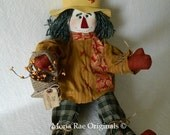 Scarecrow Doll ~ Mr. Grasshopper ~ 24 Inches Tall