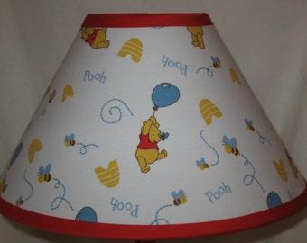 Winnie the Pooh Fabric Nursery Lamp Shade