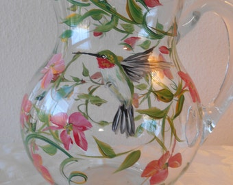 Hummingbird pitcher.