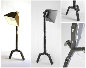 Wooden Floor Lamp DL023 by BlackGizmo