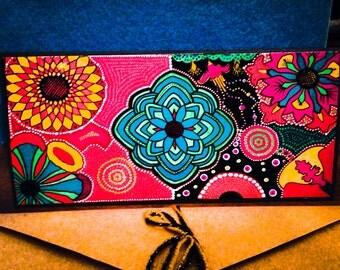 "Original Art Card ""bloom"""