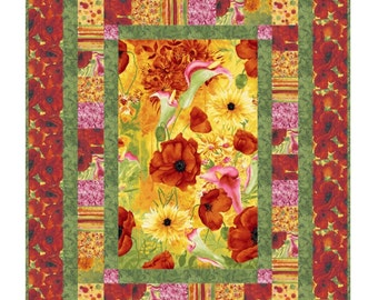 Quilt Pattern - Picture This - Throw Quilt by Little Louise Designs - SUPER EASY!