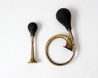 FREE SHIP  vintage motorcycle horns, Road King horns, pair bike horns