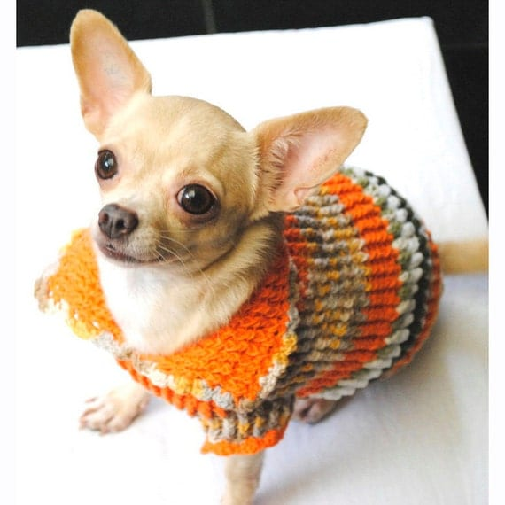 Dog clothing xxs cute chihuahua sweater knit warm sweater - Dog clothes for chihuahuas ...