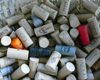 Wedding Decor/ Lot of 100 Corks/ Synthetic/Craft Projects/ Wedding