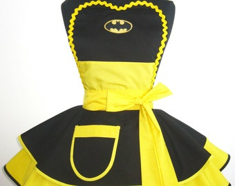 Batman Costume Apron Cosplay Apron