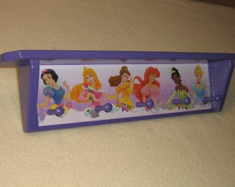 Kid's corner coat rack ( Princess, with shelf )