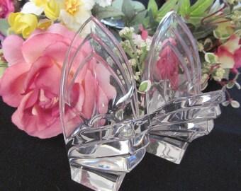 Godinger Lead Crystal Quartz Desk Clock Crystal By Estatefinds4u2