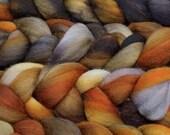 SUPER SOFT Malabrigo Nube Hand Dyed 100% merino wool top - 48 Glitter - Luxury fiber for HandSpinning Needlefelting Felting Thrumbed Mitts