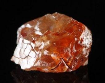 Amazing Red Diamond crystal rare mineral specimen gemstone