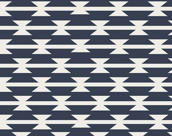 KNIT, Tomahawk Stripe, Arizona Collection, Designed by April Rhodes, Limited Edition, Art Gallery Fabrics, Stretchy Fabric