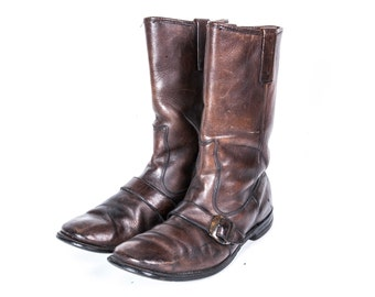 1960's Men's Monkstrap Boots Size 10 .5