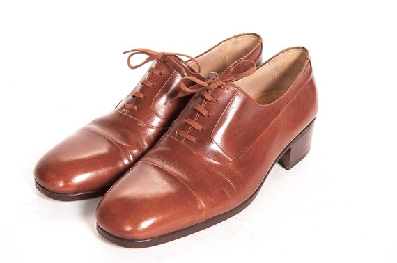 mens dress shoes size 7 5 d by metropolisnycvintage on etsy