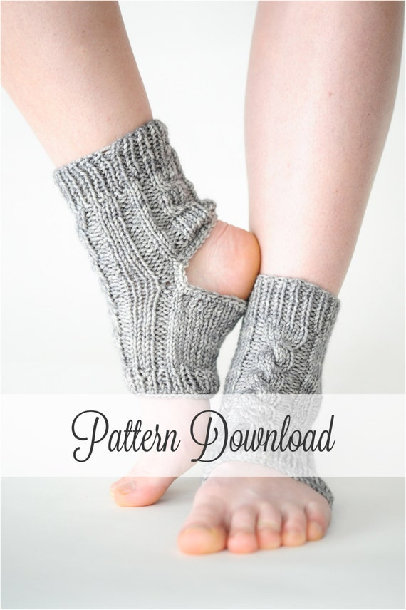 Easy Knitting Pattern For Yoga Socks : KNITTING PATTERN // Yoga Socks // Yoga Sock by 12LittleThings