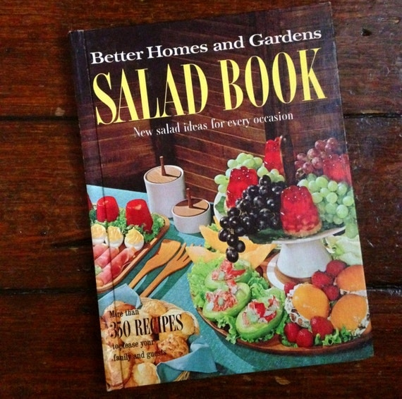Excellent 1967 Better Homes And Gardens Salad Book By Presleypigs