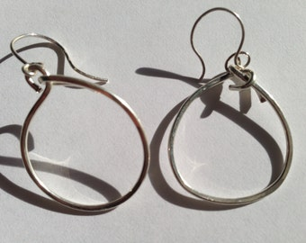 Sterling silver Circle 18g, Lilyb444, Slightly irregular, eclectic