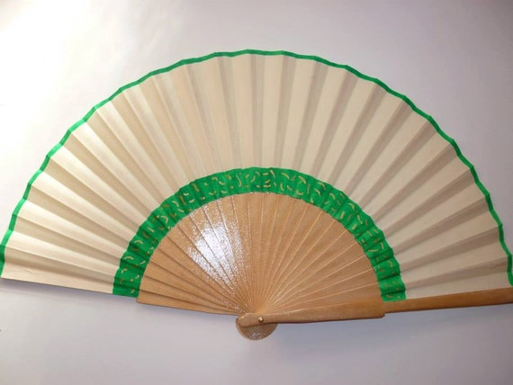 WEDDING Bridal Alternative Bouquet Any Color Flower Handheld Folding Fan MTO Made to order