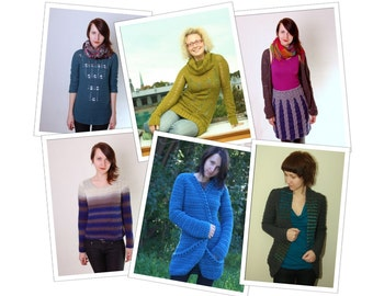 Custom pattern deal - Any 4 crochet patterns of your choice - PDF files tutorials