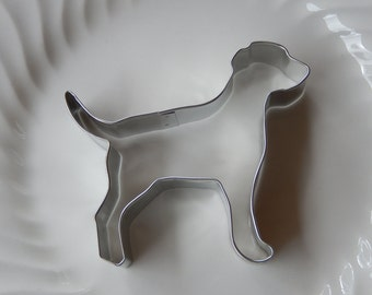 "Labrador Retriever Dog Cookie Cutter - 5"" Metal Cutter Made in the USA - For Cookies - Dog Biscuits - Fudge - Crafts - Playdough"