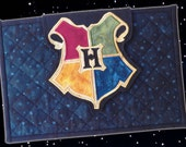 CUSTOM Hogwarts / Harry Potter Quilted Cover / Sleeve / Case for iPad or Other Tablet PC