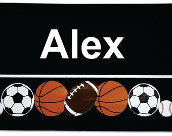 Great Personalized Embroidered Neoprene Velcro Can or Bottle Wraps
