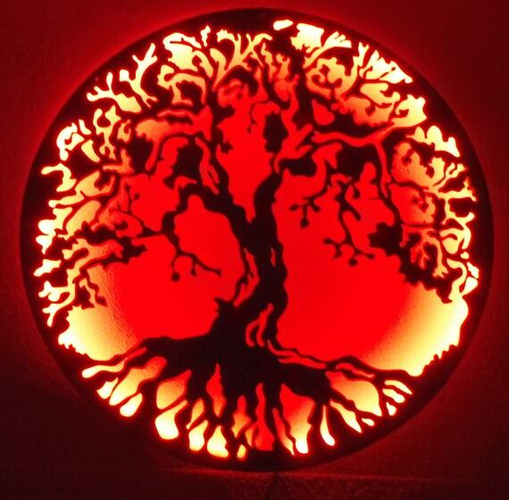 Articles similaires arbre de vie metal art murale avec for Decoration murale arbre de vie