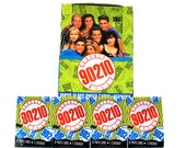 4 Beverly Hills 90210 Trading Card & Sticker Packs by Topps 1991