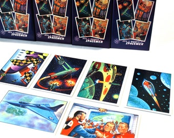 4 Jets, Rockets, & Spacemen Trading Card Packs
