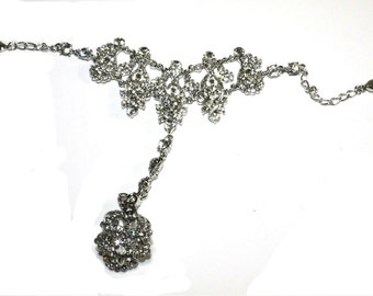 Crystal Bridal Slave Bracelet-CT12023