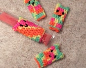 Crocheted Freeze Pop Cozies - made to order