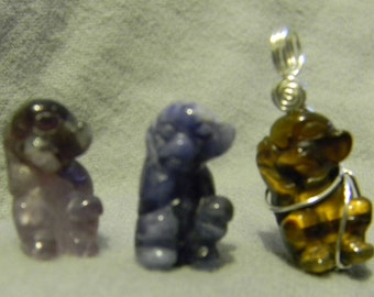 Gemstone Monkey Necklace