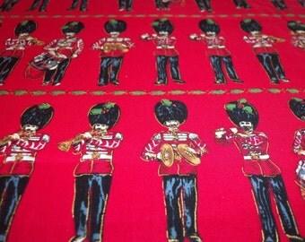 Drummer Boy Christmas Fabric New BTFQ