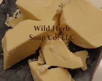 COCOA BUTTER 8 oz - Organic, Pure, Fresh, Lush: AAA Quality