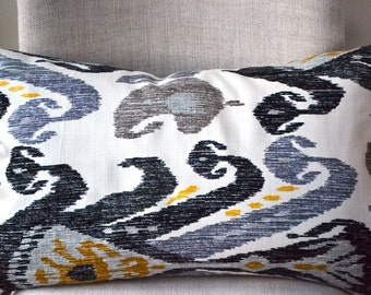 Decorative Throw Pillow, 14 by 24 inch and other sizes available, NATE BERKUS FABRIC, (Cover only)