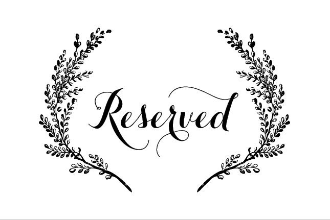 Reserved seating template images for Reserved seating signs template