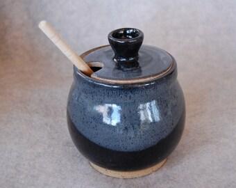 Slate Honey Pot