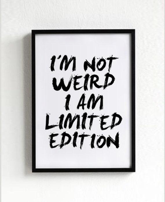 V odgovor vsem, ki mislijo, da sem čuden...