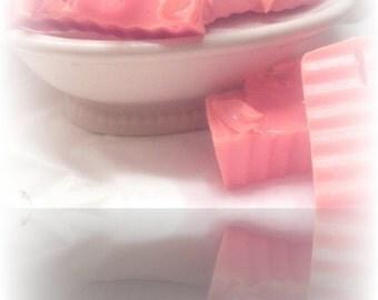 mint cookie glycerin soap sample