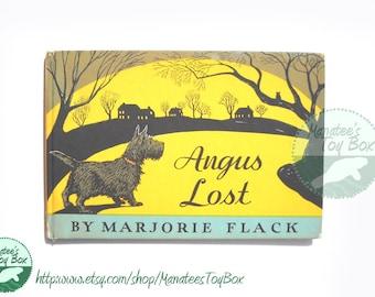 Vintage Angus Lost Book by Marjorie Flack
